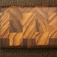 Zebrawood Checkerboard
